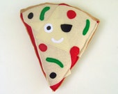 Pizza Plush Toy from Panda With Cookie