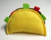 Taco Catnip Cat Toy for Kitty // Great Gift for the Pet Lover