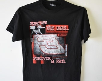 vintage Dale Earnhardt tee shirt / collectible / race fan collectible / Dale Earnhardt Sr. racing shirt / tee shirt