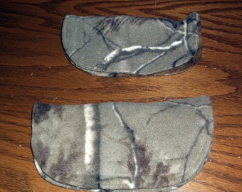 Handcrafted Seatbelt Snugglies ( Pair, Camo) -461p
