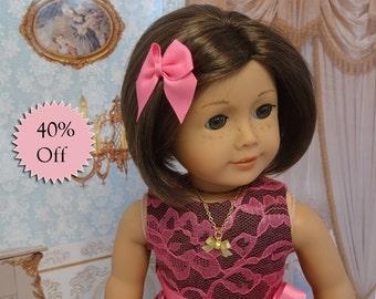 Summer Sweetheart- sleeveless dress for American Girl doll **Sale**