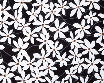 FREE Shipping - Daisy Splash Fabric by Jane Dixon for Andover Fabric - Buy 1 yard or more with quantity discounts
