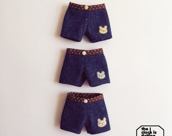 Shorts for Blythe (Licca body) or Ruruko (Pure Neemo XS body)