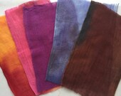 Hand Dyed Cheesecloth Sampler Pack 112