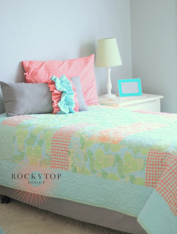 Custom Toddler Bedding- Quilt, Comforter or Large Minky Blanket- Your choice of fabric