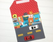 Car Wallet - Holds 5 of your childs favorite cars - Patchwork cars