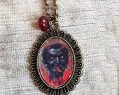 Krampus necklace