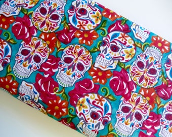 Sugar Skulls - David Textiles - cotton woven sewing quilting fabric by the yard DT-16006