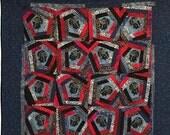 Black History Sale Queen of Nobody 48x48 inch art quilt