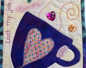 Black History Sale Time For Tea Number 3 small art quilt
