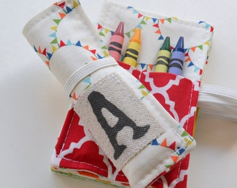 Personalized Birthday Party Favors . Set of Mini Crayon Rolls . 4 Crayons Included per Roll . Choose Your Quantity . Art Party Favors