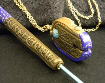 Giza Modern Artifacts Crochet and Threadcutter Set