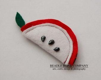 Apple Slice Catnip Cat Toy