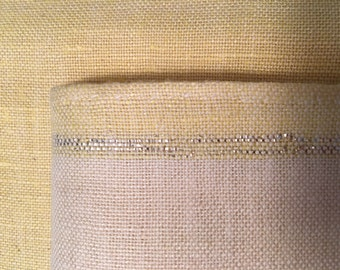 Vintage Handwoven Linen Placemats and Napkins