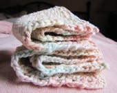 Cotton Washcloth Set - Ice Cream