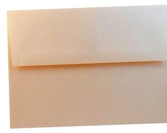Metallic Coral A2 Envelopes - 25 pack