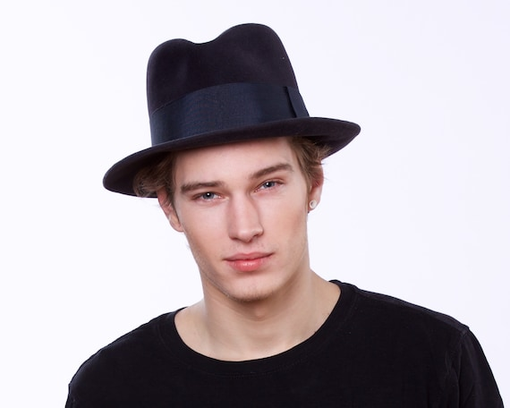 9529559906d1 ... Men S Hats: Men's Fedora Hat 1930s Men's Hat 1940s Men's Hat By