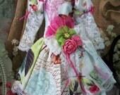 Monarch Floral for MSD Sized BJD Dolls