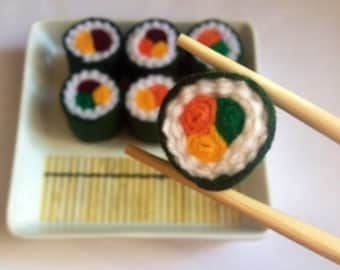 Felt Food Sushi Pretend Play Toy