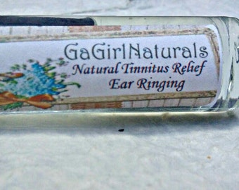 SALE Natural Tinnitus Relief, Ringing in The Ears, Aromatherapy