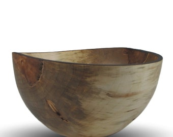 Wood Serving Bowl- Spalted Maple Wood