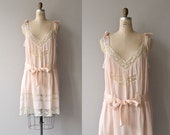 Pretty Baby nightie   vintage 1920s lingerie   silk and lace 20s nightgown