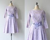 Juno's Iris dress | lace 1950s dress | vintage 50s dress