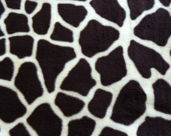 RaToob, Dark Brown and Cream Giraffe Print with Large Spots