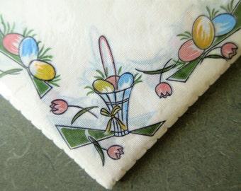 Vintage Napkins, Easter Napkins, Pastel Easter Paper Napkins, Easter Serviettes, Made in Germany, Fasana Napkins, Paper Serviettes
