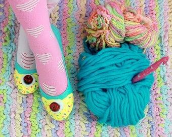 Ice Cream Flats, Ice Cream Shoes, Pastel Goth