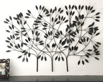 Metal Tree Wall Art,  Metal Wall Art, Large Wall Art, Metal Wall Decor, Metal Tree