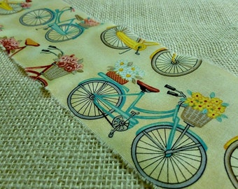 Bicycling in Paris?  Yes, Please!  Ribbons to make your Heart Sing for Spring!