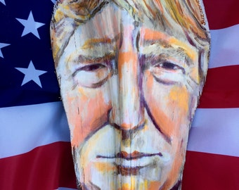 Painted Palm Frond Trump