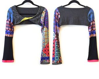 Dance Boho Twisted Sports Shrug