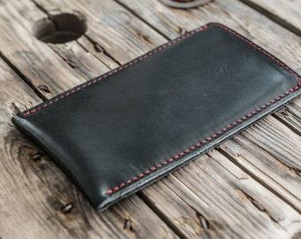 Galaxy S8, Galaxy S8+ Leather Sleeve - SHERLOCK Organic Leather