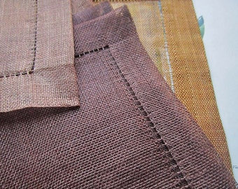 1970's Table Setting * Placemats * Vintage Kitchen * Entertaining * Woven Natural Fiber Placemats