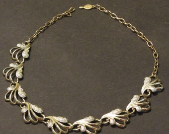 Stunning Sarah Coventry Gold Choker Vintage 60's