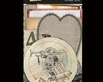 Glitz Designs- Vintage Whatnots (paper embellishments and die cuts)