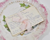 10 Vintage Hand Written Recipe Cards