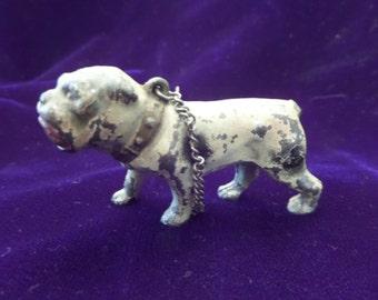 Wonderful Old Bull Dog Cast Iron Figurine