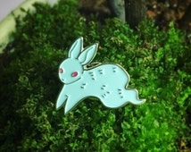 Ghost Bun enamel pin