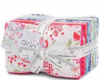 SALE Aria Fat Eighths Fabric Bundle -  Moda - Kate Spain