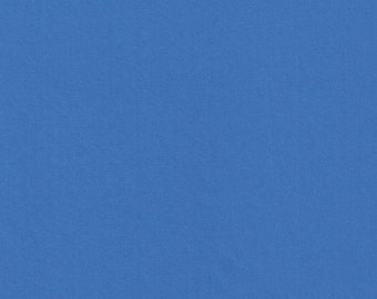 Liberty Tana Lawn Fabric Plain Periwinkle Blue A- Yard