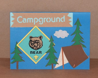 Bear Scout - Boy Scout card (1)