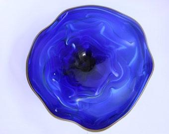 Wall Art Glass Blown Platter 525