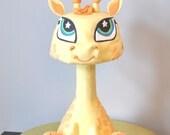 Giraffe Pet Shop Inspired Cake - Custom Birthday Cake - Grooms Cake - LOCAL DELIVERY ONLY