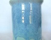 Seafoam Green Utensil Holder Wine Holder Cooler