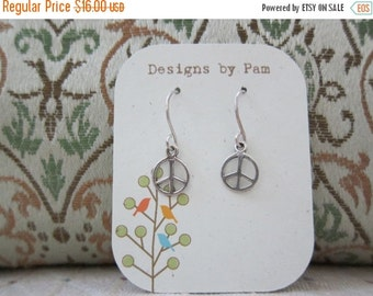 ON SALE Let There be PEACE Earrings..