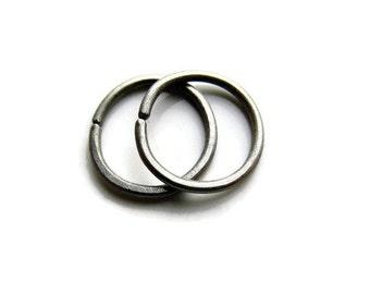 Tiny 7mm Titanium Hoop Earrings Cartilage Earrings SNUG fit size, one pair