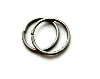9mm Small Titanium Hoop Earrings Cartilage Earrings, One Pair
